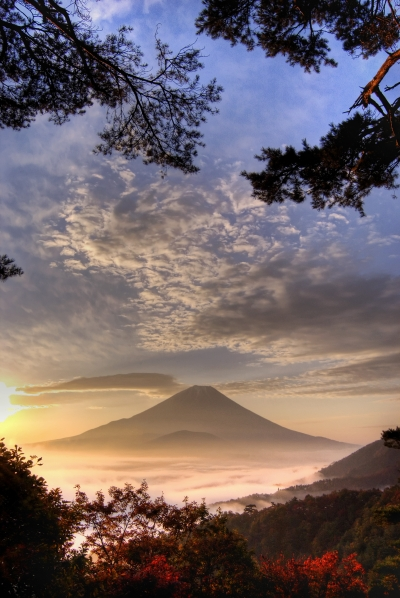 Fuji-san at dawn