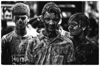 Holi celebration - Chennai, INDIA