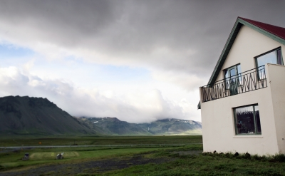 Icelandic guesthouse.