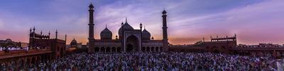 Alvida namaz at Jama Masjid