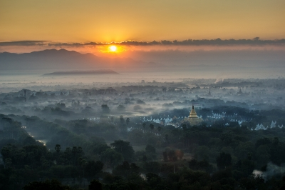 Mandalay Winter Morning