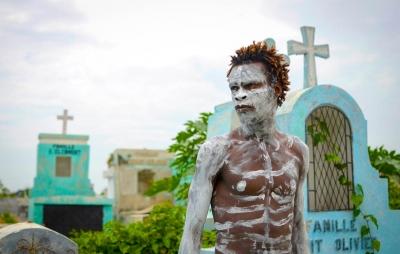 Haitian Zombie Poet