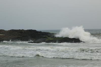 The Waves At Kovalam Beach