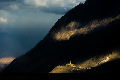 Nature's Spotlight at Diskit, Ladakh