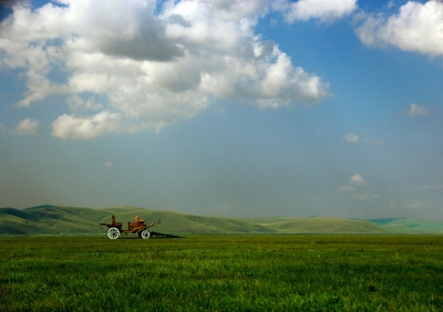 Prairie at Inner Mongolia China