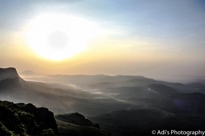 Sunrise + Fog + Mountains = Breathtaking