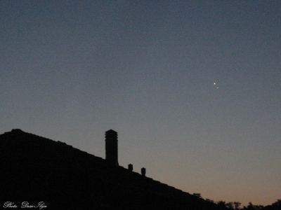 Venus and Jupiter Conjunction. 18.08.'14. ; )