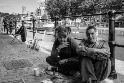 Locals in Bristol