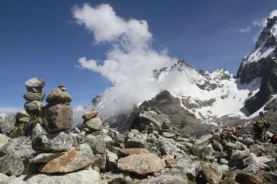 Salkantay Glacier, Peru.