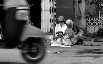 Life on the street.