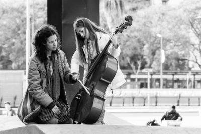 The cello lesson