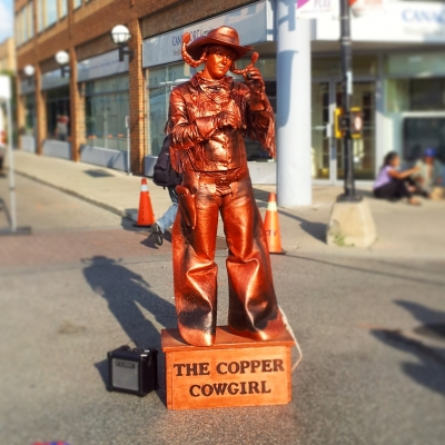 The Copper Cowgirl