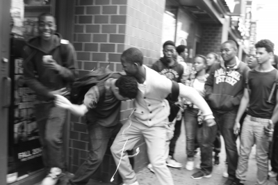 After school fight