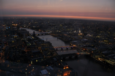 Top View from The Shard
