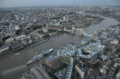 London Bridge from Top of Shard