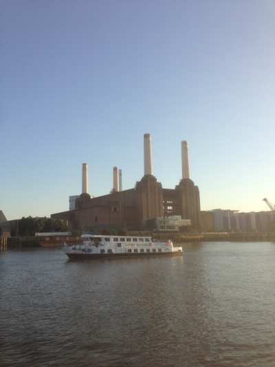 Battersea from the river
