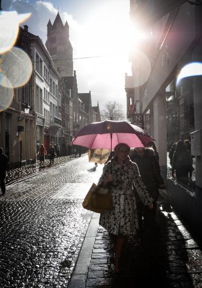 Fashion in the Rain