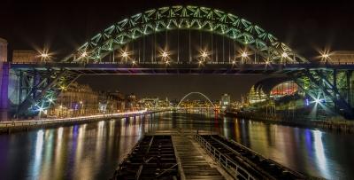 Bridges @ night
