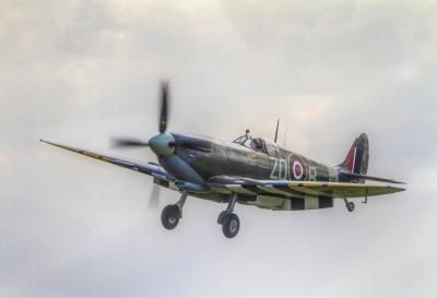 Spitfire Landing