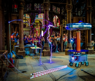 Tesla Coil at Crossness