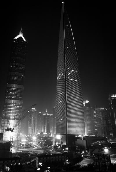 Shanghai City Construction Lights