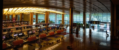 Singapore Changi International Airport Terminal 2 Departure Hall