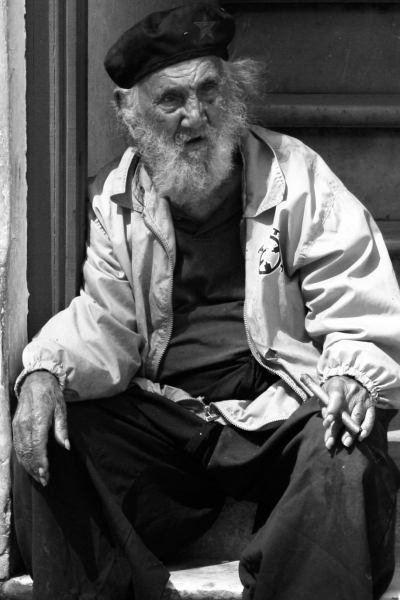 An impoverished cuban revolutionist