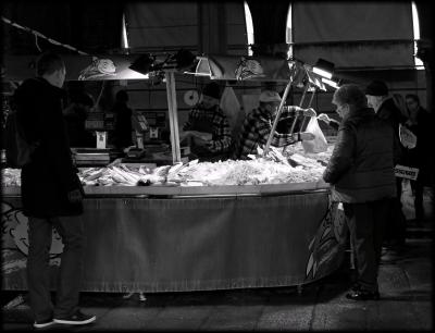 A walk down the venetian market