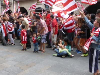 Girona fans.