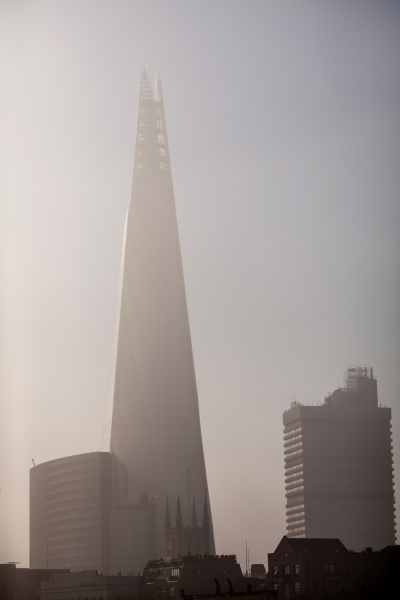 Obelisk in the mist