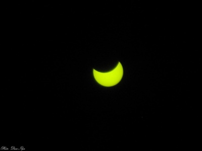 Solar Eclipse. (and first day of spring) 20.03.2015.