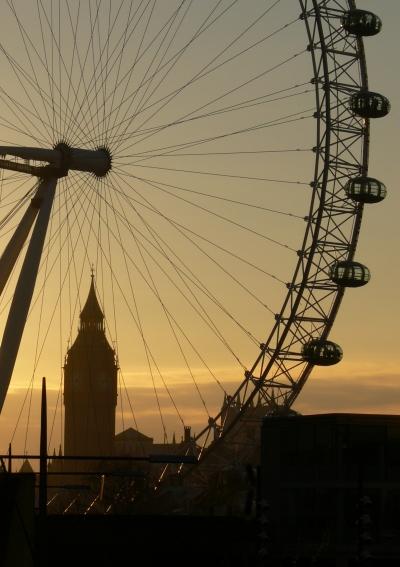 Big Ben through the Eye.