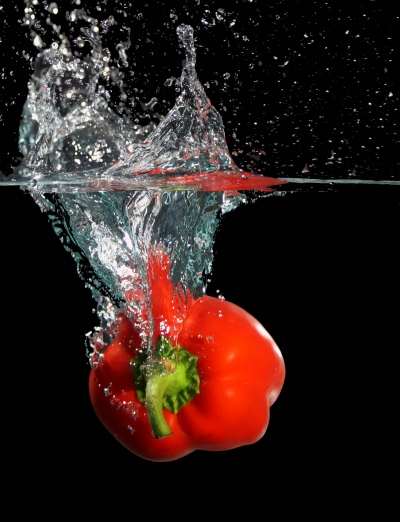 Splash of taste and colour