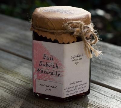 Sarah's redcurrant jam