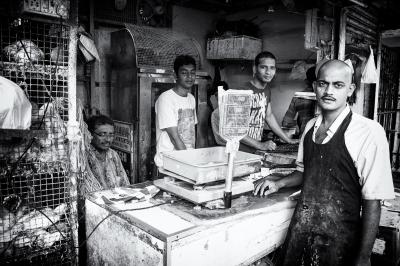 Colaba Chicken Market
