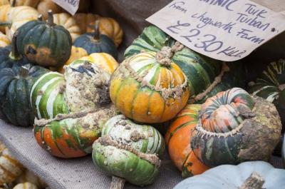 Pumpkins at Borough Market