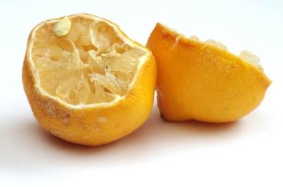 Air drying lemon