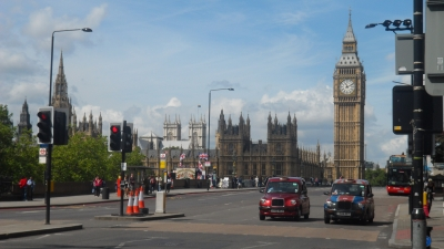 Big Ben during the Olympics
