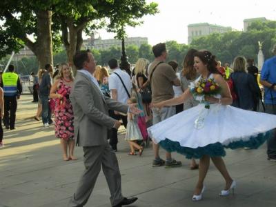 Getting Married London Eye