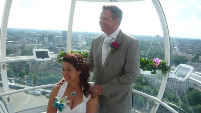 Getting Married London Eye