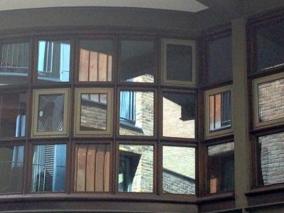 Window reflections,Southwark.