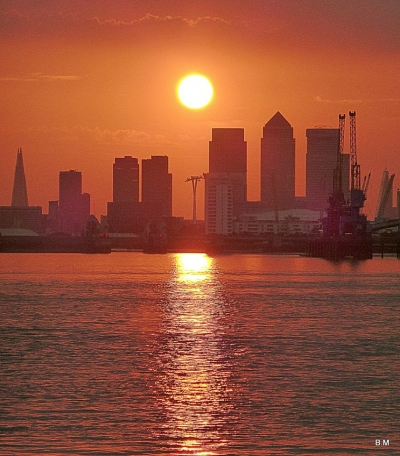 Woolwich Sunset