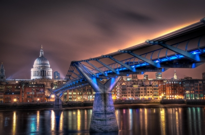 The path to St Paul's