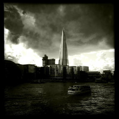 Sinister cloud over the shard II