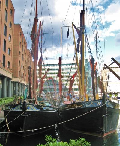Thames Barges.